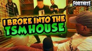 I BROKE INTO THE TSM FORTNITE HOUSE w/ Daequan, Hamlinz & Myth