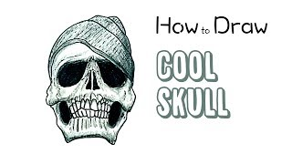 How to Draw a Cool Skull