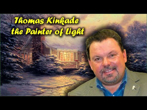 Thomas Kinkade - the Painter of Light - Great Painting - Cottage Collection - Oil Painting