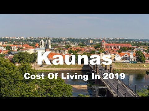 Cost Of Living In Kaunas, Lithuania In 2019, Rank 273rd In The World