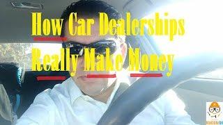 Do Car Dealerships Make Money Off Financing