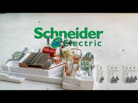 Принцип работы автомата Schneider Electric