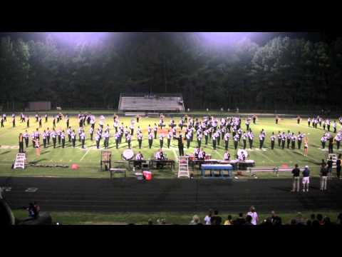 2012 Appalachian State University Marching Band at Athens Drive High School