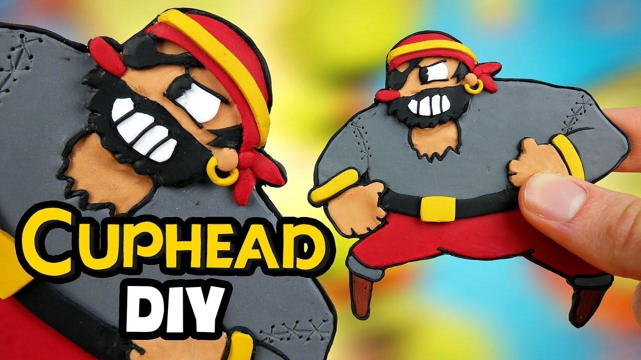 Making Capitan Brineybeard from Cuphead l DIY Polymer Clay Charm
