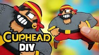 Making Capitan Brineybeard from Cuphead l DIY Polymer Clay Fridge Charm