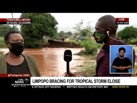 Some parts of Limpopo expected to be hit by tropical storm Eloise