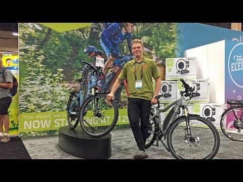 2018 OHM Electric Bike Updates at Interbike (City Step-Thru, Urban, Sport, Mountain)