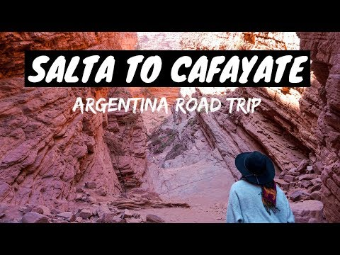 EPIC ROADTRIP FROM SALTA TO CAFAYATE | QUEBRADA DE LAS CONCHAS | ARGENTINA TRAVEL VLOG