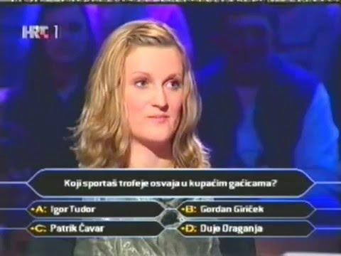 Milijunas Mo 2002. Who wants to be Millionaire Croatia