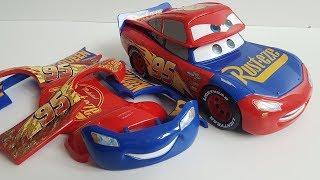 Change & Race Lightning McQueen Video for Kids