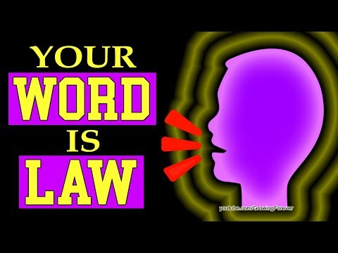 The Secret to Word Power. Create Money and Success With Your Voice, Subconscious Mind Power