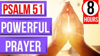 Psalm 51 Prayer (Bible verses for sleep with Music) (Prayer for forgiveness)