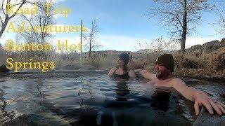 Natural Hot Springs Camping -Benton California