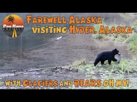 Hyder, Alaska - Ghost towns, Glaciers and Bears Oh My! 🚐🇺🇲🇨🇦