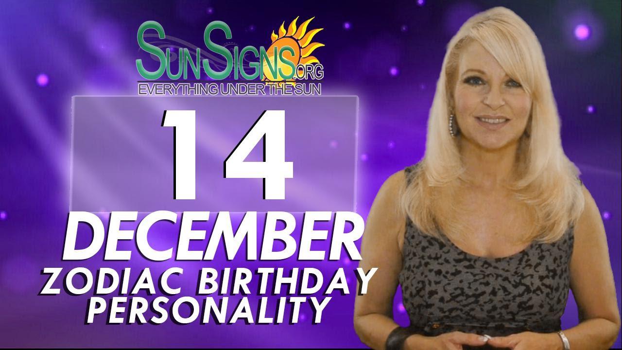 December 14 Birthday Horoscope