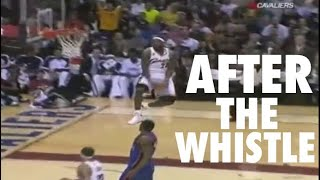 NBA Crazy After the Whistle Shots (Part 1)