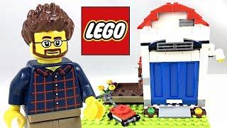 LEGO Pencil Holder House review! 2018 set 40188!