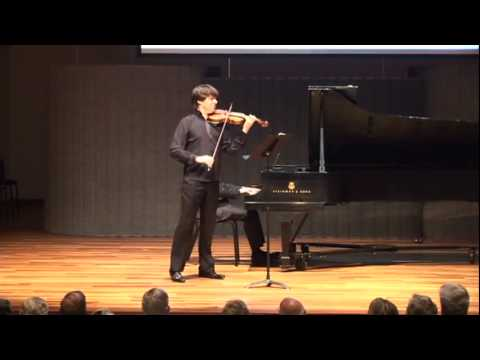 Joshua Bell Performs for Moment