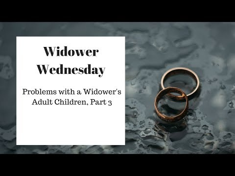 problems of dating a widower