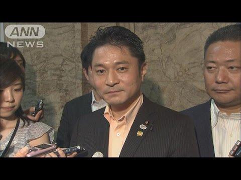 維新が安保独自案提出へ 各党に修正協議呼び掛け(15/06/30)
