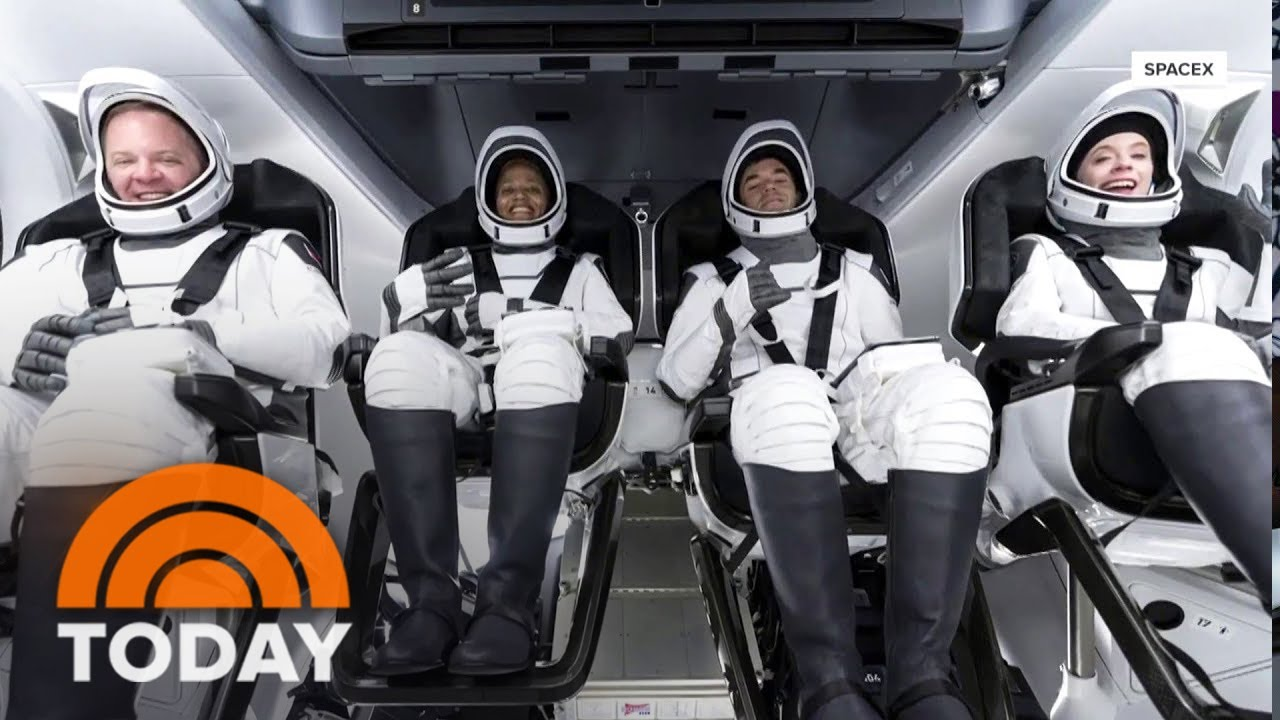 SpaceX Civilian Crew Set To Return To Earth After Three-Day Orbit