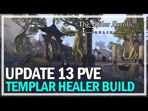 Templar Healer Endgame PvE Build - ESO Update 13 @Jonlaw98