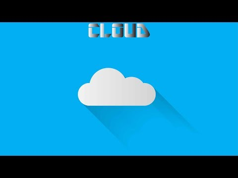 Flat Design Cloud Icon | Adobe Illustrator Tutorial thumbnail
