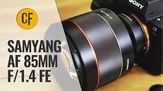 Samyang AF 85mm f/1.4 FE lens review (Full-frame & APS-C)