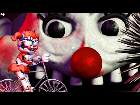 THE HUMAN LIKE ANIMATRONIC TRANSFORMS.. I CANT LET IT EAT ME   Babys Nightmare Circus Bike Fighter
