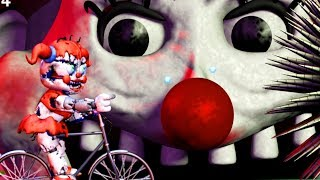 THE HUMAN LIKE ANIMATRONIC TRANSFORMS.. I CANT LET IT EAT ME | Babys Nightmare Circus Bike Fighter