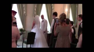 Evergreen Paul & Rose White Wedding 2013