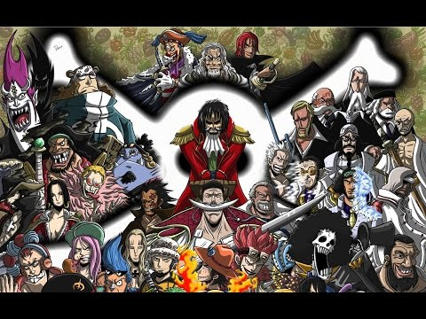 شخصيات ون بيس في الحقيقة '''...اكثر من 50 شخصية...'''