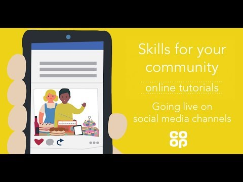 Our Co-op Communities: Going Live on Social Media channels
