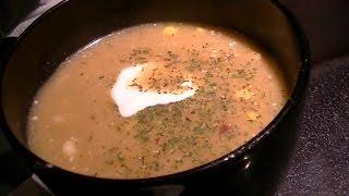 Vlog - Leek, Potato And Corn Soup