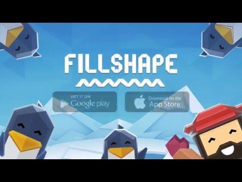 Fillshape - игра головоломка (серия: развивающие игры)