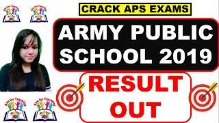 APS Result Out 2019 ll Final Cut Off II Score Card ll  PRT, TGT, PGT ll
