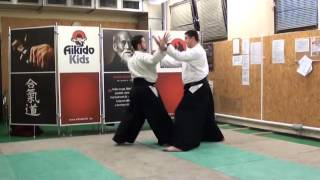 yokomen uchi kaiten osae uchi, soto [TUTORIAL] Aikido empty hand advanced techniques