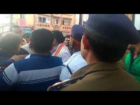 congress workers dispute in Indore