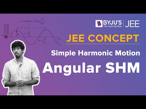 Angular SHM | Simple Harmonic Motion | JEE Concept | Physics