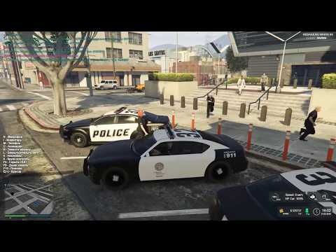 21.02.19   GTA 5 RP   Rage RP   Полиция