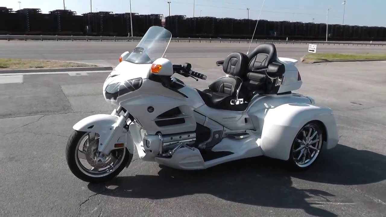 2012 Honda Goldwing Trike Gl1800 Used Motorcycle For Sale Youtube