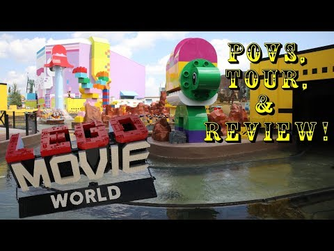 LEGO Movie World at LEGOLAND FLorida Full Area Tour, Review, Povs, & More!
