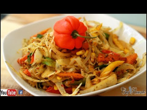 How To Make Jamaican Stir Fry Cabbage Recipe For Vegan And Vegetarian Dish | Recipes By Chef Ricardo