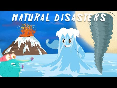 Natural Disasters compilation | The Dr. Binocs Show | Best Learning Videos For Kids | Peekaboo Kidz
