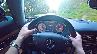 Hooning Around: Mercedes SLS AMG Point of View Drive!
