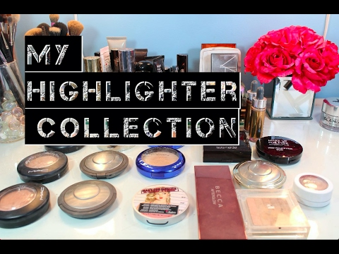 My Makeup Collection - Highlighters