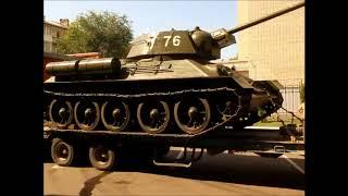 Россия - Моя история. По центру Саратова провезли танк