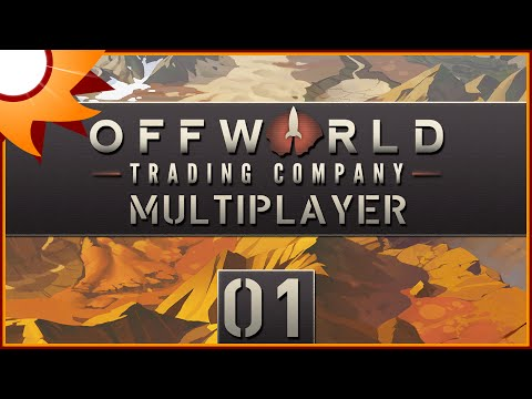 Offworld Trading Company Multiplayer - Episode 1 ...Pink-Slip Club...