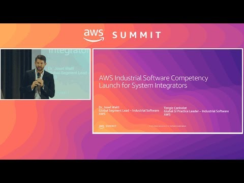 AWS Industrial Software Competency For System Integrators