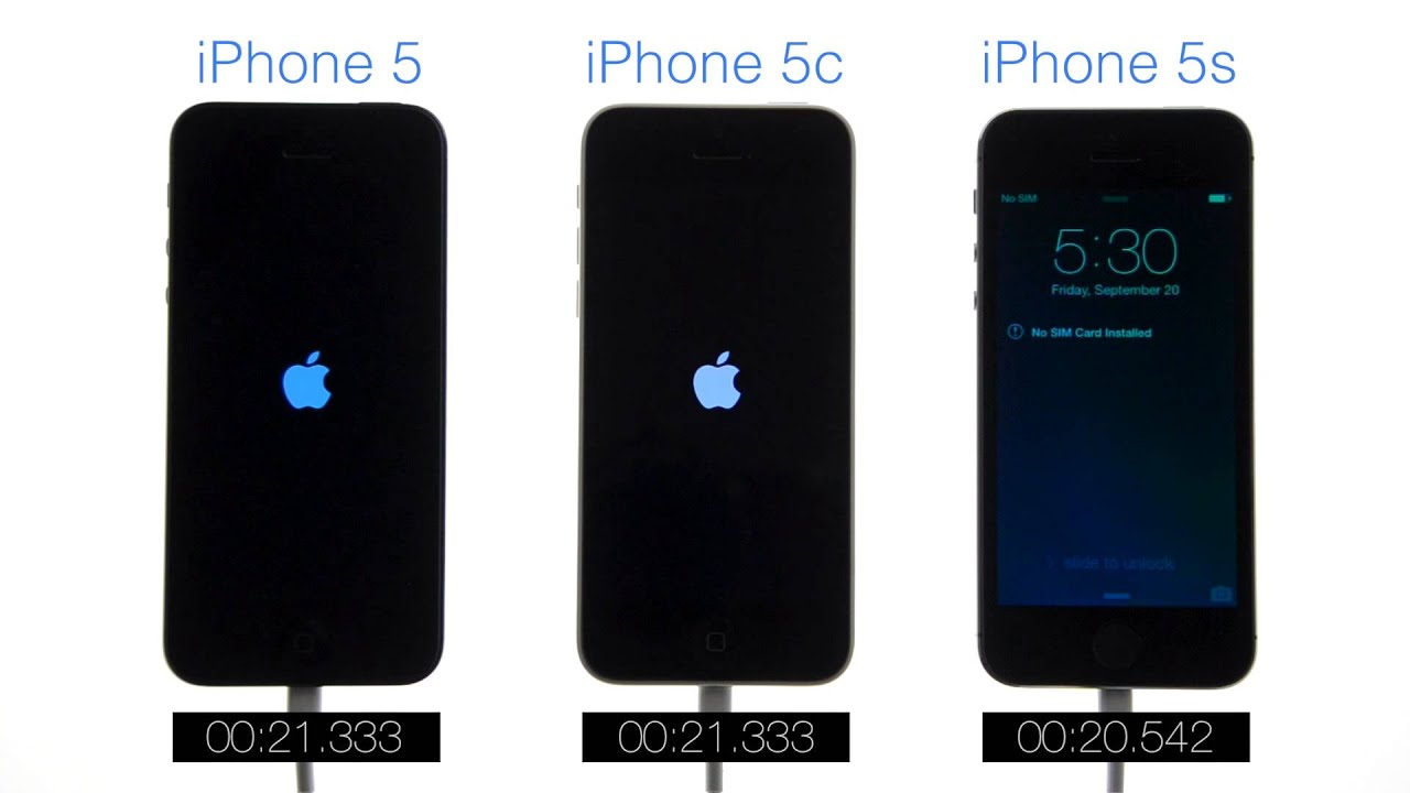 boot speed test iphone 5 vs iphone 5c vs iphone 5s youtube. Black Bedroom Furniture Sets. Home Design Ideas